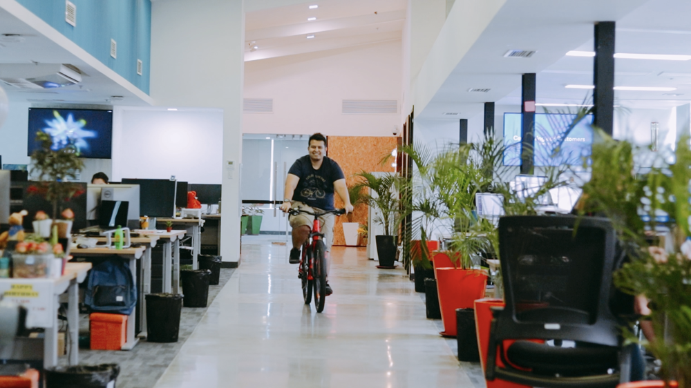 Companies that are bike-friendly